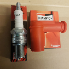 CHAPION N4 SPARK PLUG WITH CHAMPION HT CAP